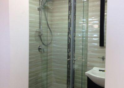 Divisiones de baño en vidrio templado bogota 12